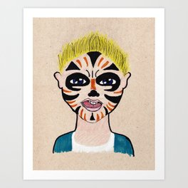 Evan Art Print