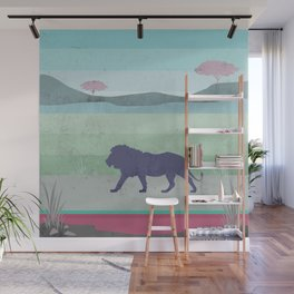 Lions are big kitties  Wall Mural
