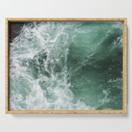 Turbulent Waters Serving Tray