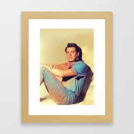 Rock Hudson, Actor Framed Art Print