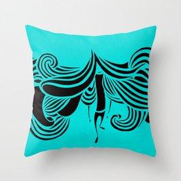 TERRY 3 Throw Pillow