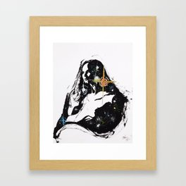 Lady Eternity Framed Art Print