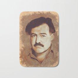 Ernest Hemingway, Author Bath Mat