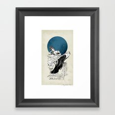 Calliope, The Muse of Epic Poetry Framed Art Print