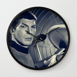 Leonard Nimoy, Actor Wall Clock