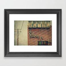 Silver Sands Motel Framed Art Print