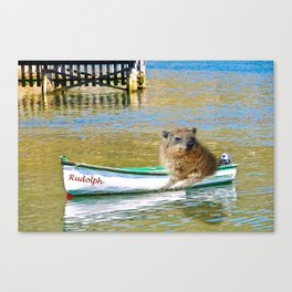 Rudolph at Sea Canvas Print