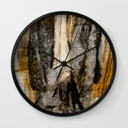 Father's Coat Wall Clock
