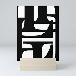 Hidden Letters. Baskerville L Mini Art Print