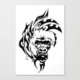 Tribal Warfare Canvas Print