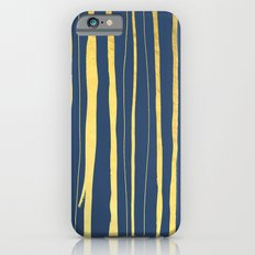 Vertical Living Navy and Gold Slim Case iPhone 6s