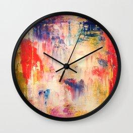 planetary landscape Wall Clock