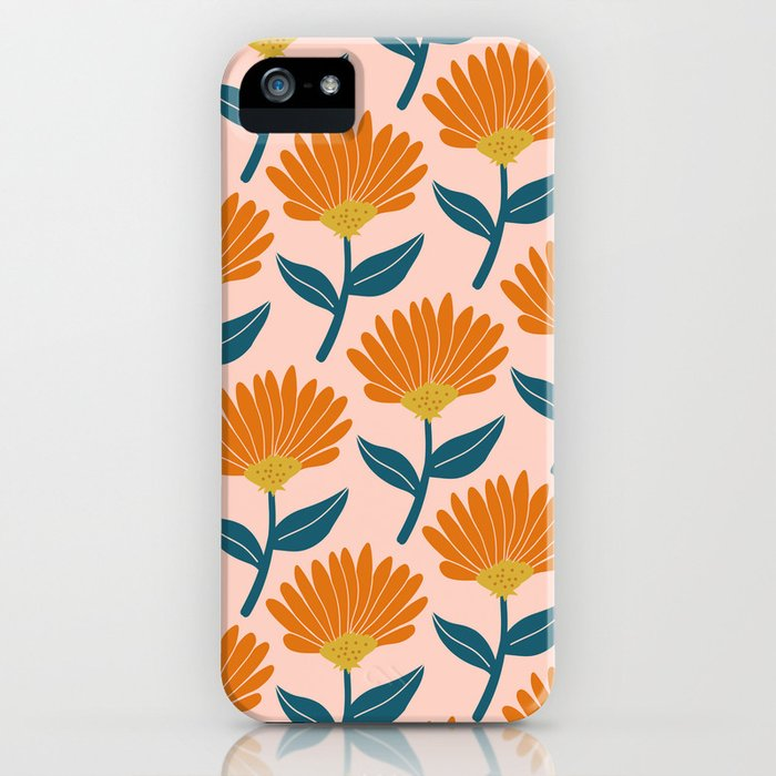 Floral_pattern iPhone Case
