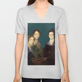 The Brontë Sisters, 1833 Unisex V-Neck