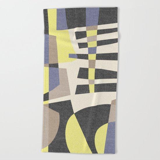 Fragments Beach Towel