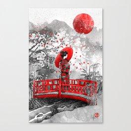 Higasa Canvas Print