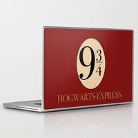 quidditch Laptop & iPad Skins featuring HARRY POTTER by Sophie