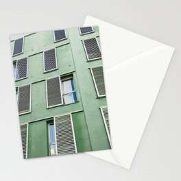 green building Stationery Cards