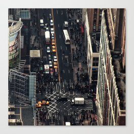New York City view Canvas Print