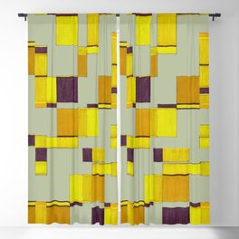 Squared field Blackout Curtain