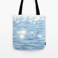 sparkles Tote Bags featuring Sparkles by Shy Photog