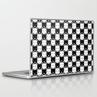 chess Laptop & iPad Skins featuring Chess by pilastrum