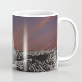 Sunset on Elbert Coffee Mug