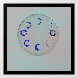 Lunar Activity Art Print