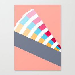 #28 Pantone Swatches Canvas Print