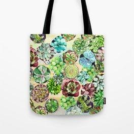Succulents,Desert vibes Tote Bag
