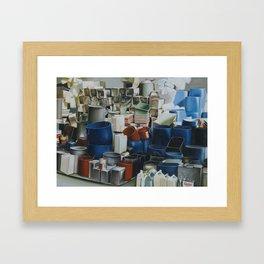 Pile And Pile 4 Framed Art Print