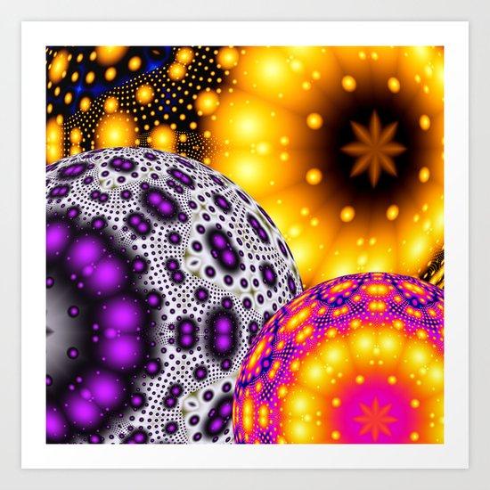 Balls! Art Print