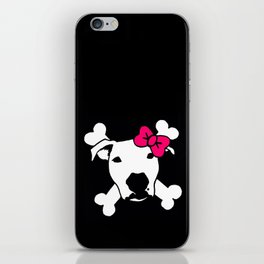 Lita Crossbones iPhone Skin