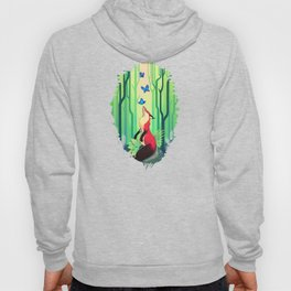 The Fox and the Butterflies Hoody
