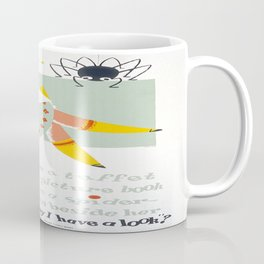 Vintage poster - Little Miss Muffet Coffee Mug