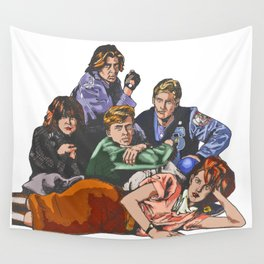 The Breakfast Club Wall Tapestry