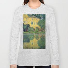 """Gustav Klimt """"Schloss Kammer on the Attersee IV"""" Long Sleeve T-shirt"""