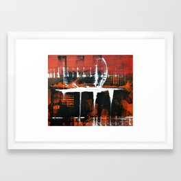 Funkyfurious Framed Art Print