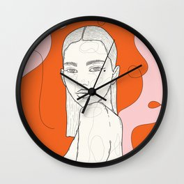 January. Wall Clock