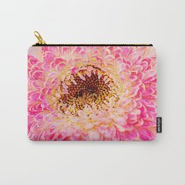 Gerbera Abstract Carry-All Pouch