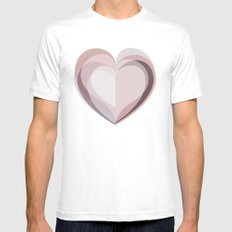 Sometimes Mens Fitted Tee White MEDIUM