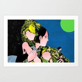 Aomame Art Print