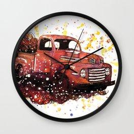 1950 ford truck Wall Clock