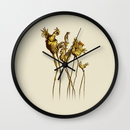 Dali Chocobos Wall Clock