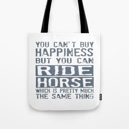 RIDE HORSE Tote Bag