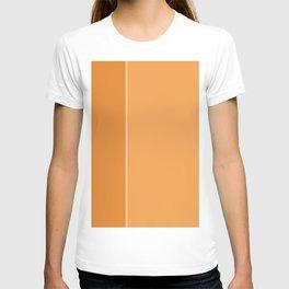 Orange Lines T-shirt