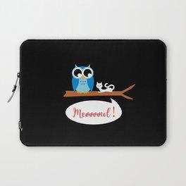 Meoooowl Laptop Sleeve
