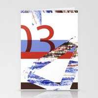 numbers Stationery Cards featuring Numbers by Payal Shah