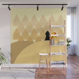 The Squirrel Forest Wall Mural