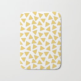NACHOS NACHO CHIPS FAST FOOD PATTERN Bath Mat